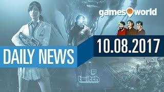 Shooter-Studie, TW: Warhammer, PS4 Firmware 5.0, PUBG | Gamesworld Daily News - 10.08.2017