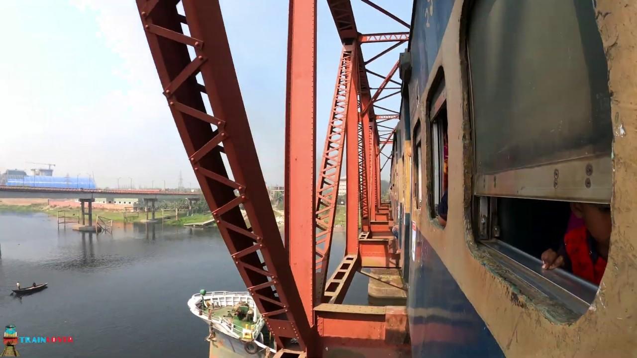 Kishoreganj Express Train || কিশোরগঞ্জ এক্সপ্রেস || 4k Video Gopro