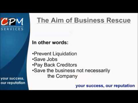What is Business Rescue