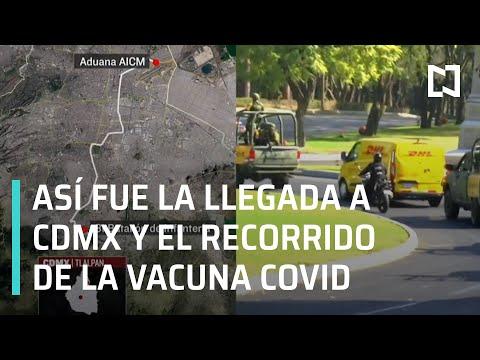 Vacuna Covid: Llegan a México las primeras tres mil dosis - En Punto