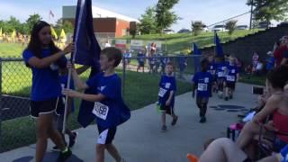 Runner's Camp 2016 - Track Meet Grand Entrance