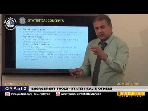 CIA Part-2 Engagement Tools Statistical & Others - Dr. Musa Shaikh