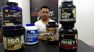 Best Whey Protein Powder in India || Optimum Nutrition (ON) vs Ultimate Nutrition