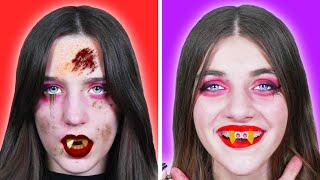 Chica Afortunada Vampiro VS Perdedor    Situaciones Graciosas