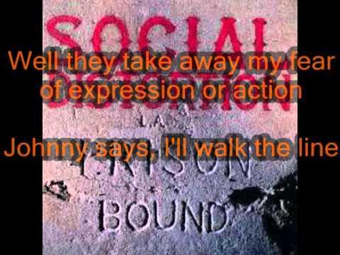 Prison Bound - Social Distortion (lyric video)