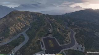 GTAO: BIKERS BUSINESS  STEALING RESUPPLY FROM BIKERS, PALETO BAY BANK AND SECURITY