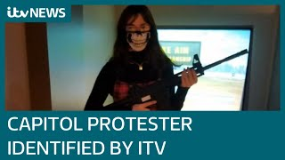 Revealed: ITV News identifies protester who stormed the Capitol | ITV News