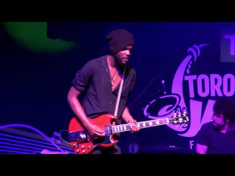 Gary Clark Jr  Grinder   Toronto Jazz Festival 2015