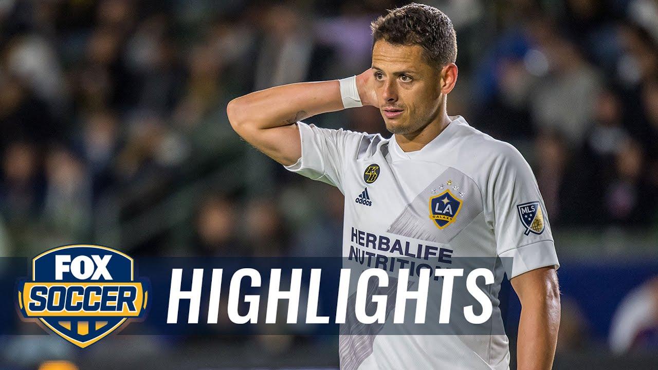 Chicharito scores first MLS goal, but Galaxy fall short vs. Timbers, 2-1   2020 MLS Highlights