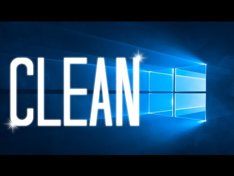 How to clean your Windows 10 PC without any software (safe and quick way)