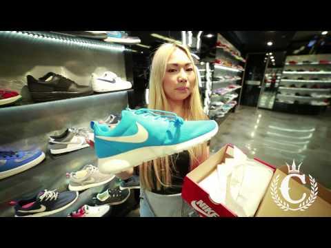 Nike Rosherun Shoes (ft. Lisa @ Culture Kings Sydney)