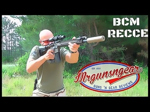 Bravo Company USA BCM RECCE 16 Dark Bronze AR-15 Review (HD)