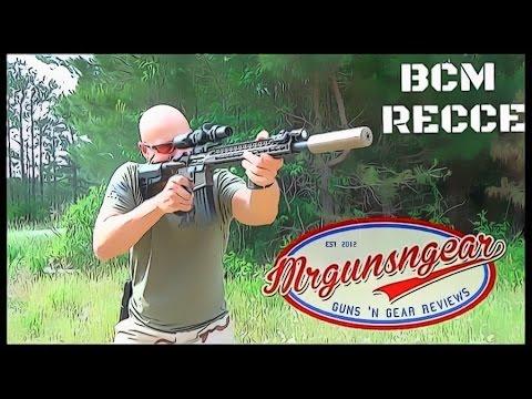 Bravo Company USA BCM RECCE 16 AR-15 Review (HD)