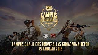 PUBG Mobile Campus Championship - Universitas Gunadarma Depok