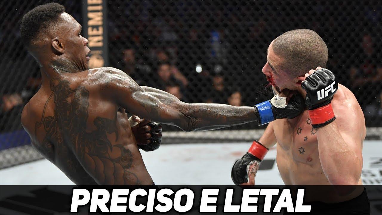 ROBERT WHITTAKER VS ISRAEL ADESANYA - RESULTADO LUTA UFC 243
