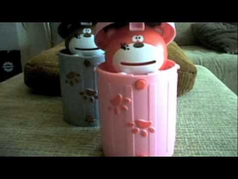 กระปุกออมสินหมีน้อยในถัง @Gadgetmashow