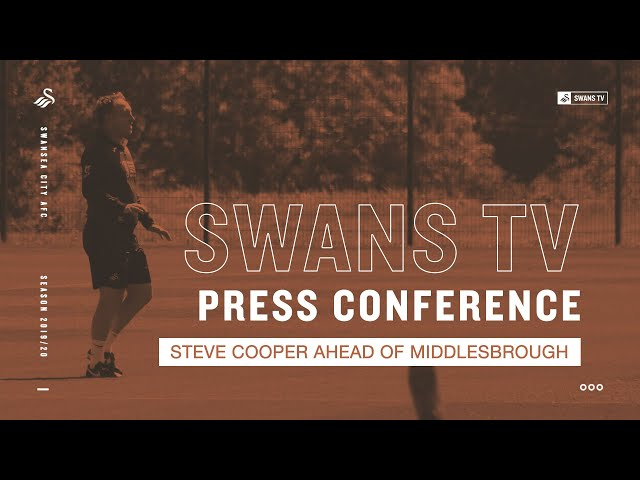Steve Cooper ahead of Middlesbrough | Press Conference