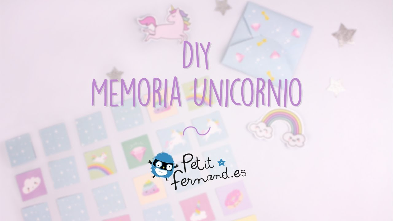 Juego De Memoria Unicornio Petit Fernand Youtube