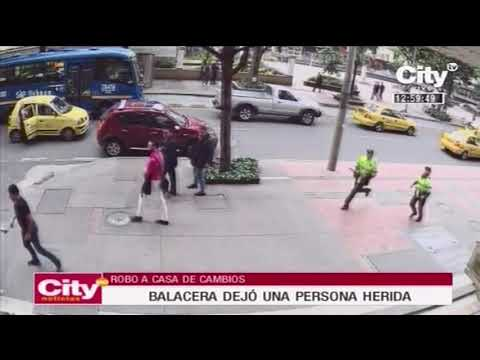 Balacera en centro de Bogotá deja al menos una persona herida    City Tv