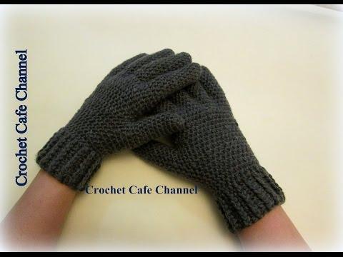كروشيه جوانتى بأصابع - #كروشيه_كافيه# Crochet Cafe