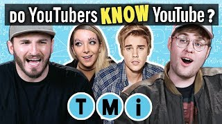 YouTubers Take The Ultimate YouTube Memory Test | Too Much Information