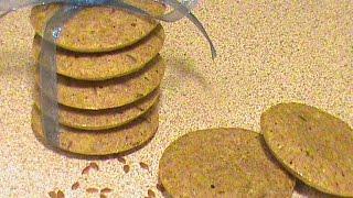 Диетическое печенье с семенами льна.  Диета Дюкана