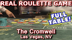 PLAYING WITH A CROWD! - Live Roulette Game #24 - The Cromwell, Las Vegas, NV - Inside the Casino
