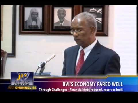 BVI'S ECONOMY FARED WELL