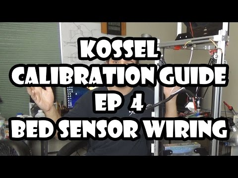 Folger Tech Kossel 2020 3D Printer Calibration | #4 - Sensor Wiring (UPDATED)
