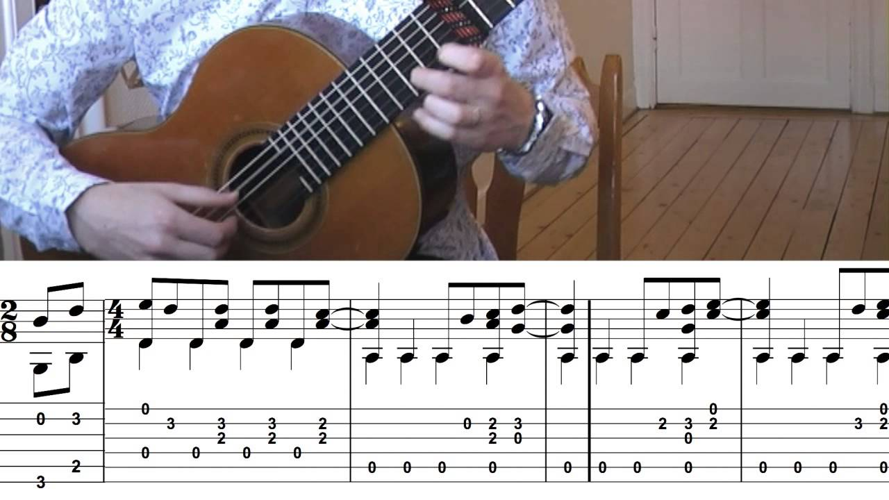 The Beatles Here Comes The Sun Tabs Classical Guitar Cover By