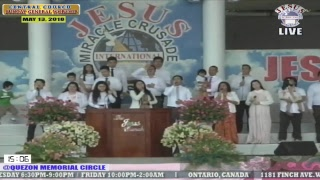 Please Watch!!! JMCIM Central Live Streaming of SUNDAY GENERAL WORSHIP | MAY 13, 2018