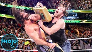 Top 10 Epic WWE Money in the Bank Cash-Ins