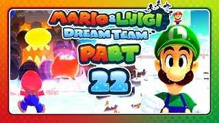 Mario & Luigi: Dream Team - Part 22: THE BEAST MOUNT PAJAMAJA!