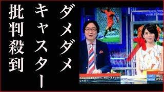 NHKの2018W杯のキャスター佐藤美希がダメダメすぎて批判殺到の件 佐藤美希 検索動画 7