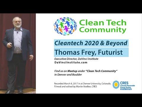 Cleantech 2020 & Beyond - Futurist Thomas Frey