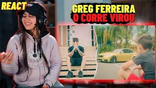 Greg Ferreira - O Corre Virou (Official Video) [REACT Mah Moojen]