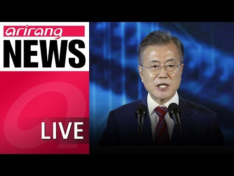 [LIVE/NEWSCENTER] President pledges jobs at launching of SK Hynix's new plant - 2018.10.04