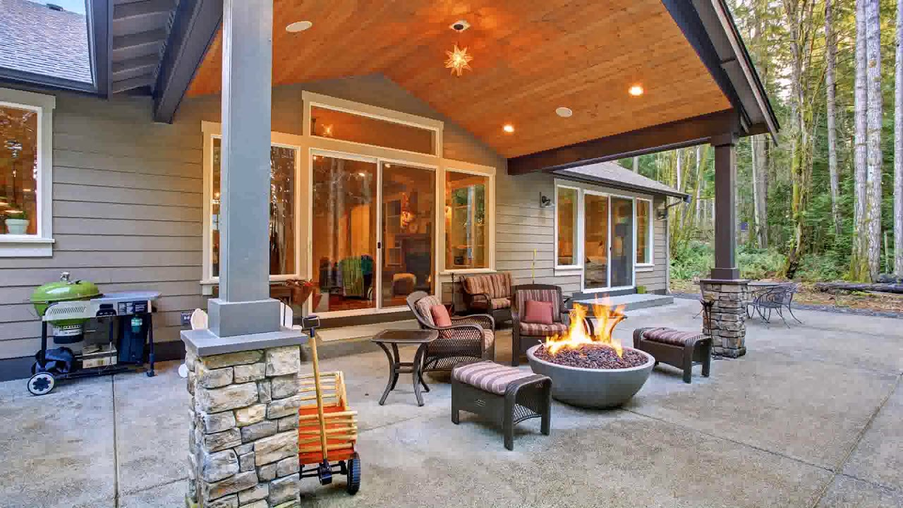 Back Door Patio Designs