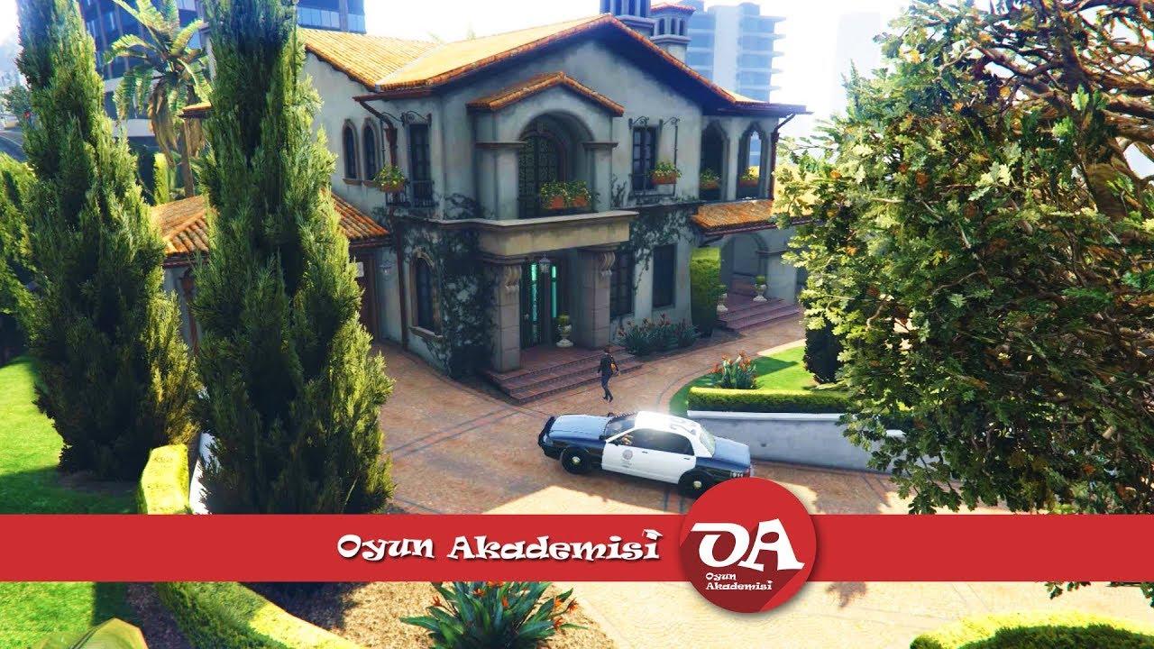 GTA 5 Görev 24 The Good Husband / Amandayı Polisten Kurtarma