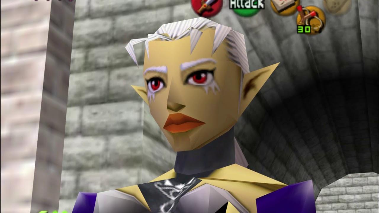 The Legend of Zelda Ocarina of Time Master Quest - GC - Parte 1