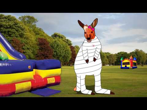 Keep your Children Safe inside of the Bounce House - Clumsy Kanga