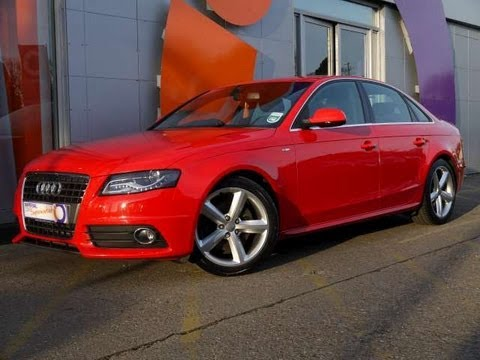 2009 audi a4 s line 2 0tdi 143 saloon red for sale in hampshire youtube. Black Bedroom Furniture Sets. Home Design Ideas