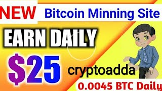 New bitcoin cloud legit mining website join and earn free money and make deposit  for much earn