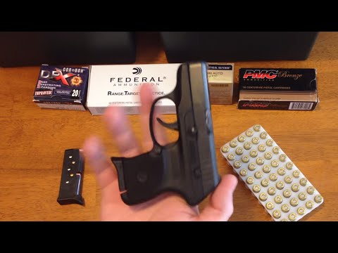 Ruger LCP 380 Pistol Review (380 Auto Pistol Guide)