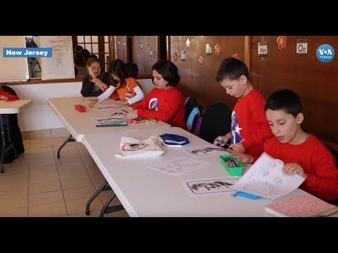 New Jersey'deki Atatürk Okulu'nda Türkçe ve Türk Kültürü Öğretiliyor