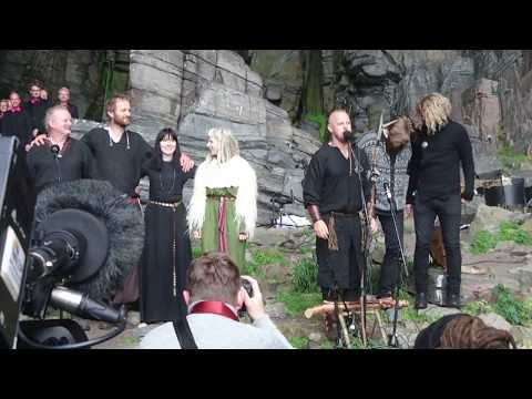 "Wardruna, Aurora and Oslo Fagottkor: ""HELVEGEN"""