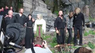 "Download lagu Wardruna, Aurora and Oslo Fagottkor: ""HELVEGEN"""
