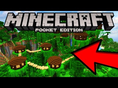 Mcpe Incredibe New Seed Insane Jungle Village Minecraft Pocket