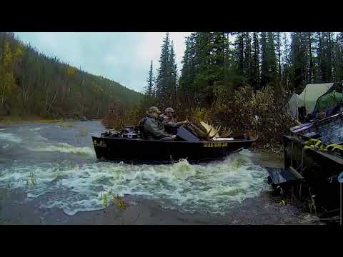 Alaska Mini Boating, Pinball River Hunt