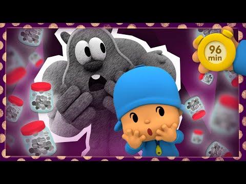 😱 POCOYO AND NINA - Feelings: I'm scared [96 min]   ANIMATED CARTOON for Children   FULL episodes